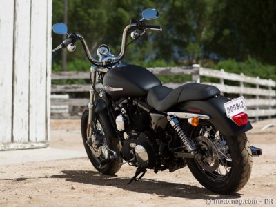 Nouveauté Harley 2013 : Sportster Blacked-Out