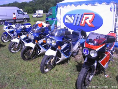 Iron Bikers 2012 : le club 11R First GSX-R