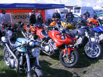 Iron Bikers 2012 : le Voxan Club de France