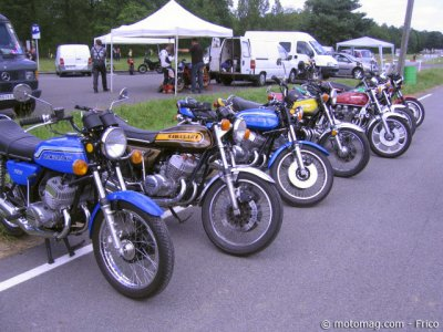 Iron Bikers 2012 : une belle brochette de Kawa