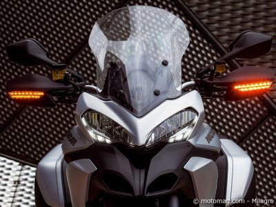 Ducati 1200 Multistrada S Touring : du mieux