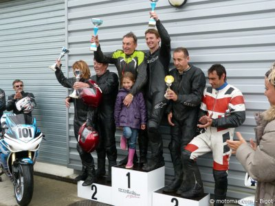 Side VMA en Haute Saintonge : podium Anciens