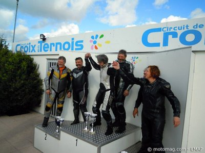 1re course VMA side 2012 : 1er podium Open