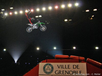 Supercross de Grenoble 2013 : FMX en 4T