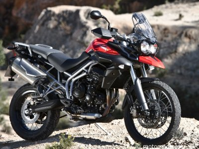Essai Triumph Tiger 800 XC : en options