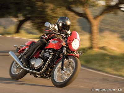 Triumph 900 Thruxton : comportement