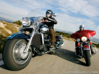 Triumph Rocket III Touring : le duel contre Harley