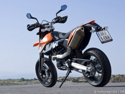 Essai KTM 690 SMC : belle finition