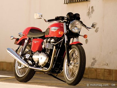 Triumph 900 Thruxton : finition