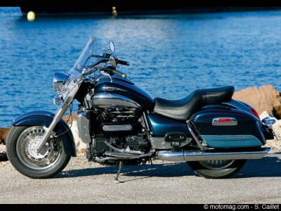 Triumph Rocket III Touring : options, aie !