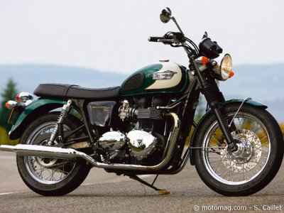 Triumph Bonneville : « back to the 50's »