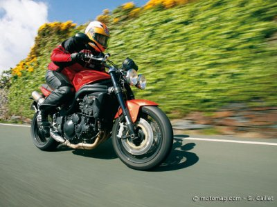 Triumph 1050 Speed Triple : tout en un