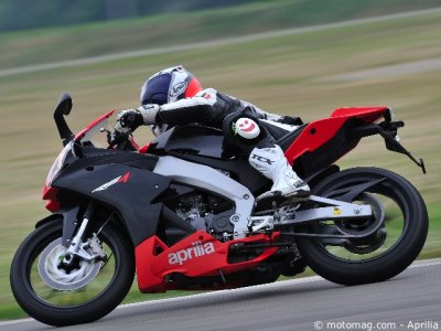 Aprilia 125 RS4 : comportement