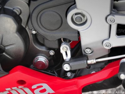 Aprilia 125 RS4 : shifter pour le fun