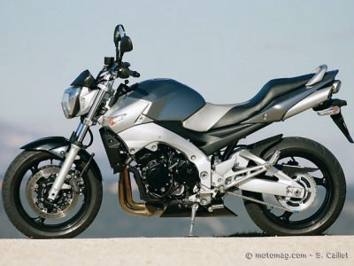 Suzuki 600 GSR : injection perfectible