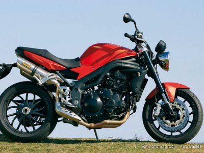 Triumph 1050 Speed Triple : look