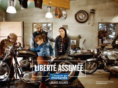 pub libert assur e le virage assum de la mutuelle des moto magazine leader de. Black Bedroom Furniture Sets. Home Design Ideas