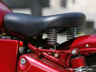 Essai Royal Enfield Bullet Classic : confortable