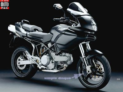 Ducati 620 Multistrada : version Dark