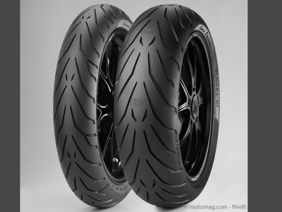 Pirelli Angel GT : Air de famille