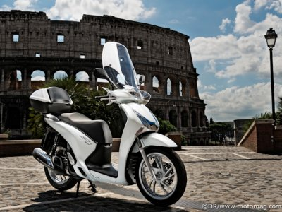 Essai Honda SHi 125 : options