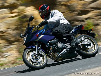 Essai Yamaha XJ6 Diversion : souple
