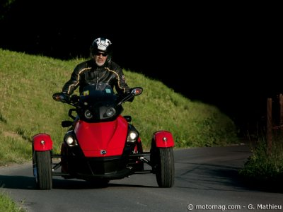 Essai Can-Am Spyder SE5 : plaisant !