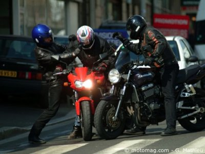 Vol de motos : 5 % de bike-jacking