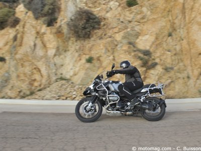 BMW R 1200 GS Adventure : protection
