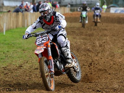 Maudite qualification pour Tonus en MX2
