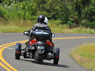 Essai Can-Am Spyder RT-S : passager heureux