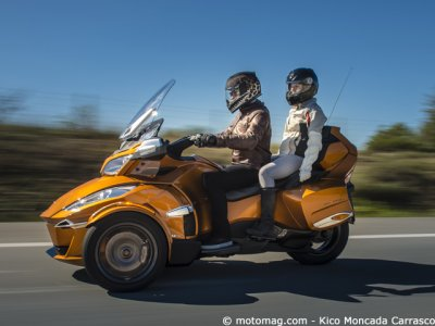 Can-Am Spyder RT Sport : déjà 7 ans...