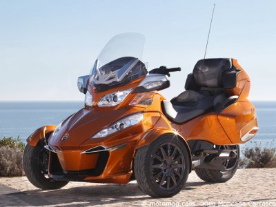Can-Am Spyder RT Sport : mode éco