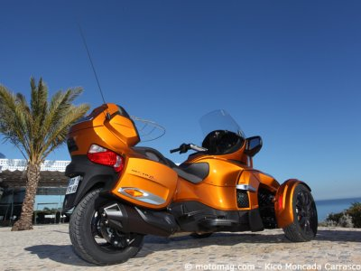 Can-Am Spyder RT Sport : plus homogène