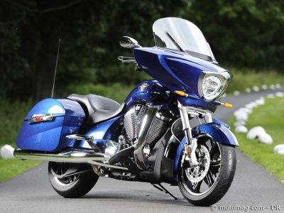 Essai Victory 1700 Cross Country : finition