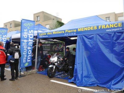 Moto Tour 2013 : assistance Mutuelle des Motards
