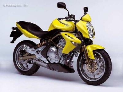 kawasaki 650 er 6n moto magazine leader de l actualit de la moto et du motard. Black Bedroom Furniture Sets. Home Design Ideas