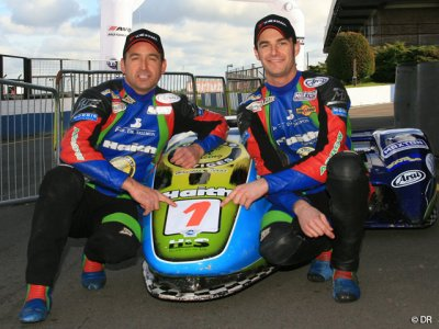 Championnat side-car Grande-Bretagne : the dream team