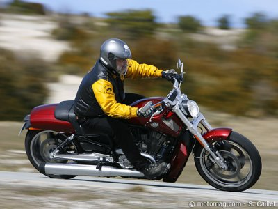 Essai Harley V-Rod Muscle :