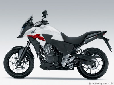 Essai Honda CB 500 2013 : version X