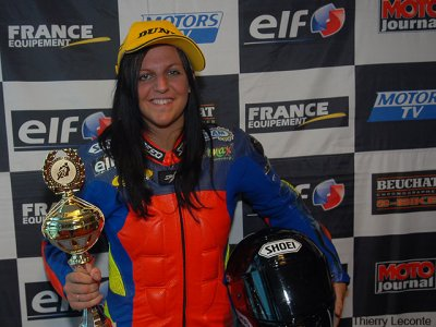 FSBK Magny-Cours : Ornella Ongaro confirme
