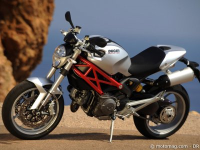 2009 Ducati Monster 1100 : chassis