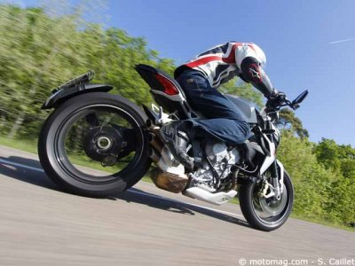 MV Agusta 800 Dragster : dommage...