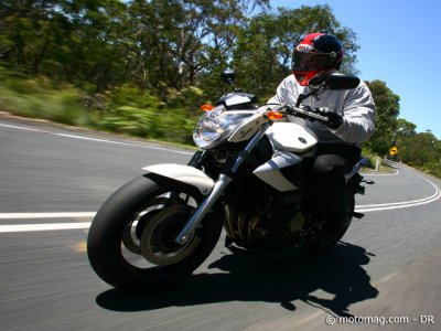 Essai Yamaha XJ6 Diversion : version naked