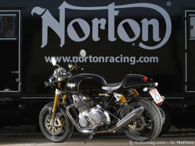 Essai Norton Commando 961 SE : Norton Racing