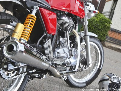 Royal Enfield Continental GT : point noir
