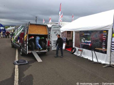 North West 200 : barnum monté