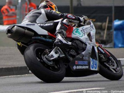 North West 200 : en sortie de virage
