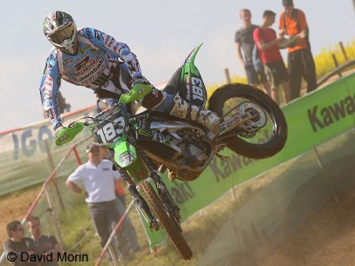 MX de Plomion : S. Frossard empoche la manche qualificative MX2