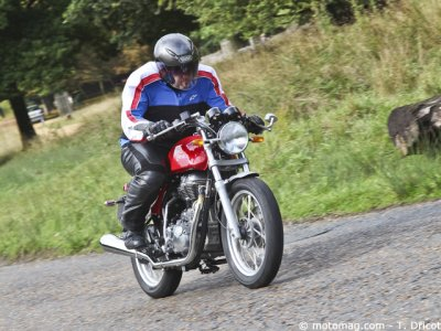 Royal Enfield Continental GT : « arsouille »